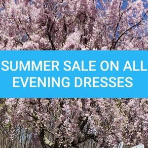 Summer Sale on All Evening Dresses